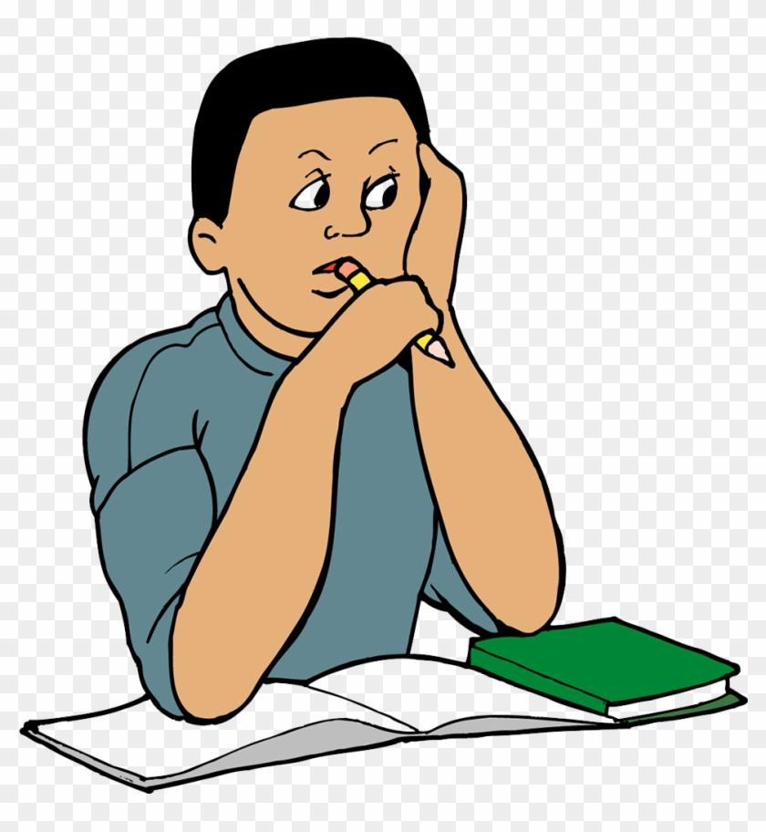Student Study Skills Clip Art - Student Study Skills Clip Art #117848