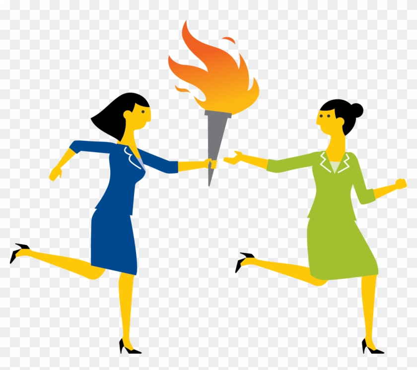 Passing The Torch Clipart - Passing The Torch Over #117845