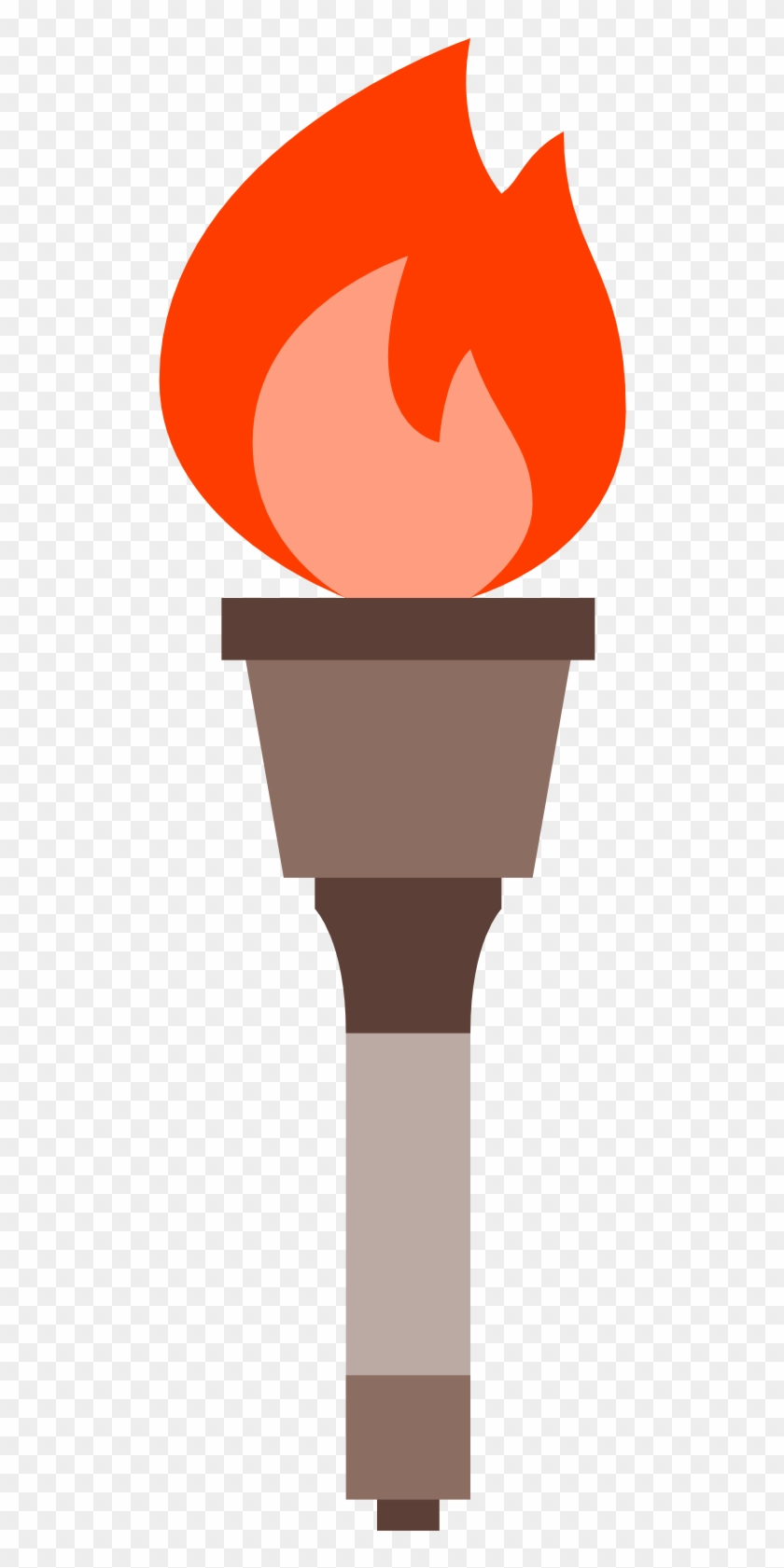 Torch Clipart Icon - Olympic Torch Png #117877