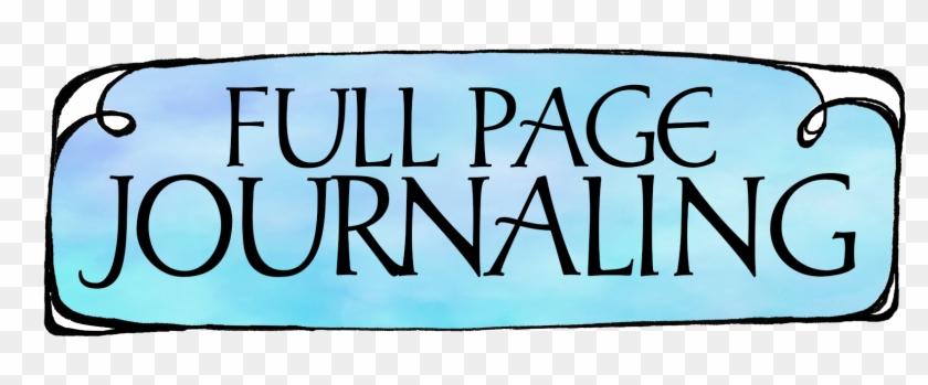 Full Page Journaling - Bible #117906