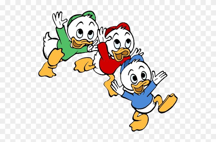 Louie Studying Huey, Dewey - Ducktales Huey Dewey Louie #117961