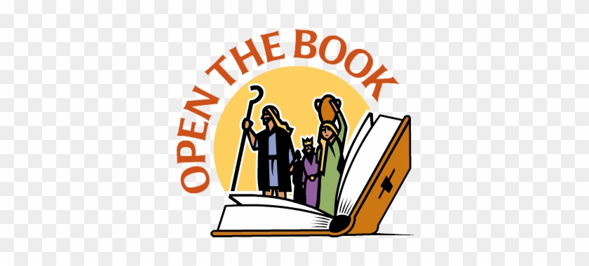 "Children Love Stories And ""open The Book"" Is Way Of - Open The Book #118095"