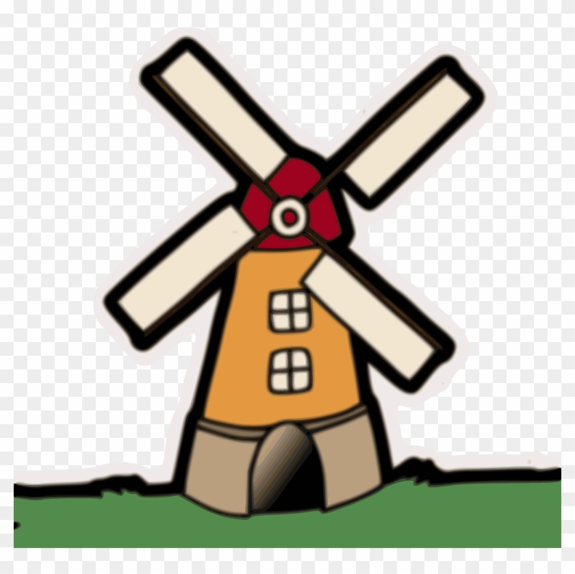 Big Image - Clipart Of Wind Mill #118117