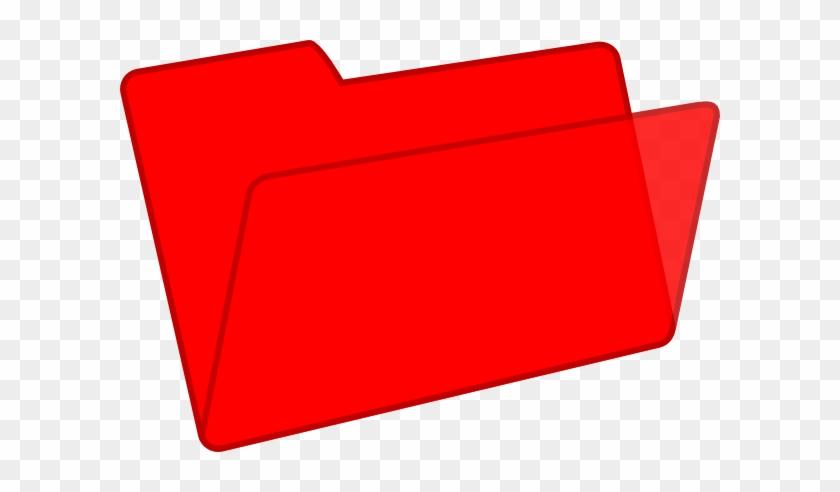 Microsoft Folder Clipart - Clip Art Red Folder #118169