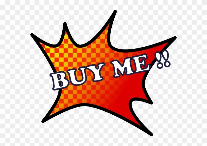 Free Vector Buy Me Clip Art - Explosion Clip Art #118295