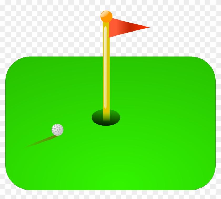 Golf Flag Svg Vector File, Vector Clip Art Svg File - Golf Clip Art #118326