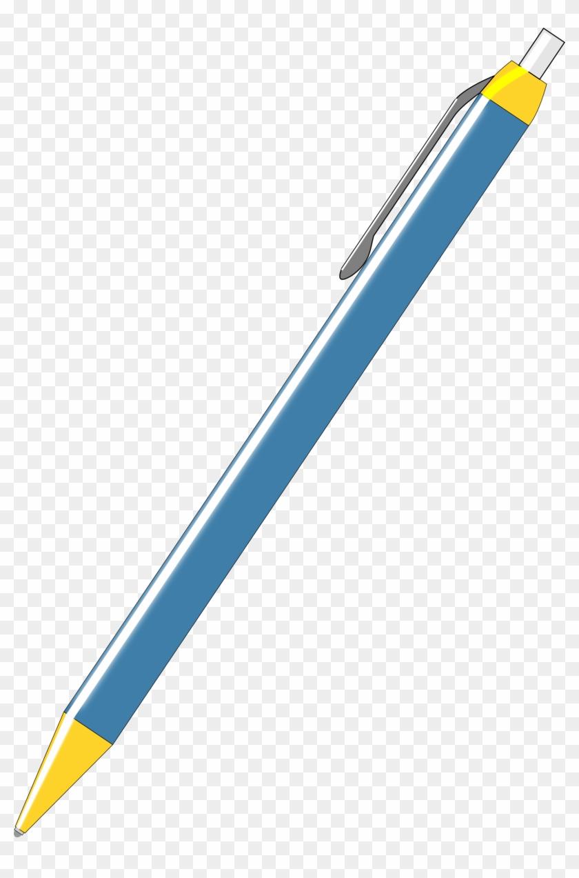 Clip Art Ball Pen Clipart Ballpoint - Ballpoint Pen #118374