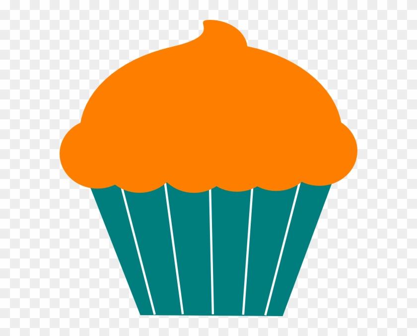 Cupcake Clip Art At Clker Com Vector Clip Art Online - Birthday Cup Cake Cartoon #118409