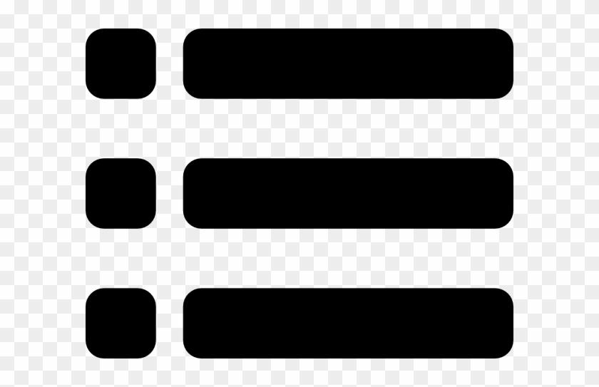 Bullet Clipart Word - Bullet Point List Clipart #118460