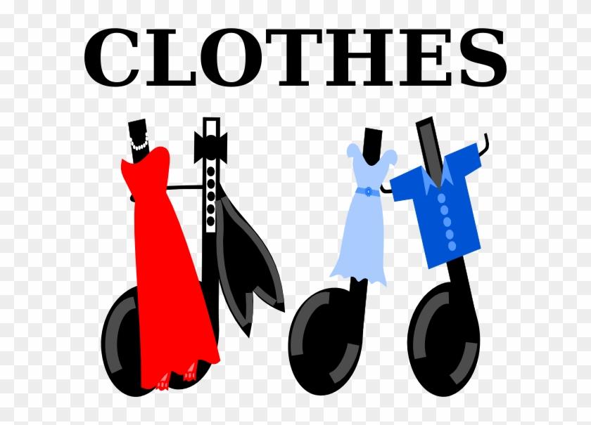 Clothes Clip Art - Word Clothes Png #118498
