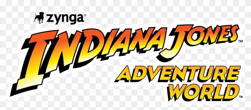 Adventure Word Clipart - Lego Indiana Jones 2 The Adventure Continues Logo #118531