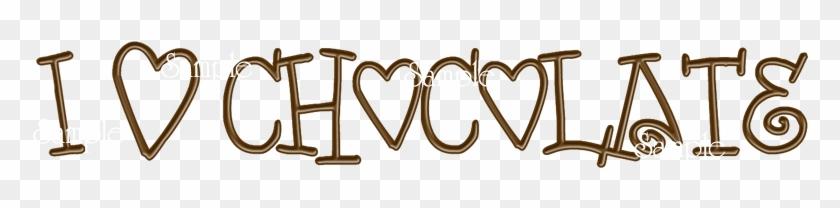 I Love Chocolate - Love Chocolate Png #118532