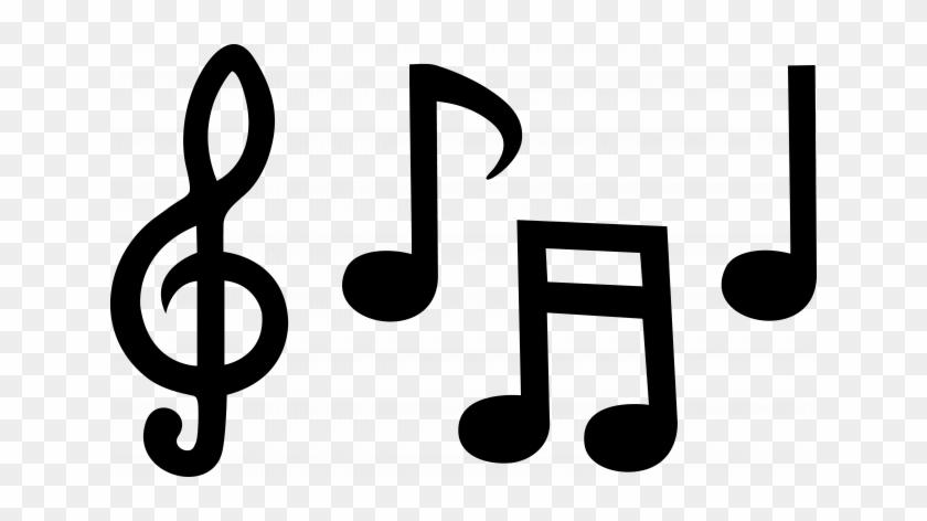 Musical Note Music Cartoon Clipart Library Flexible - Music Symbols Clip Art #118653