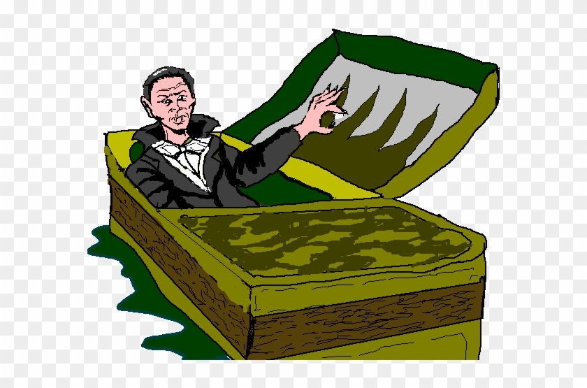Count 20clipart - Waking Up From A Coffin #118858