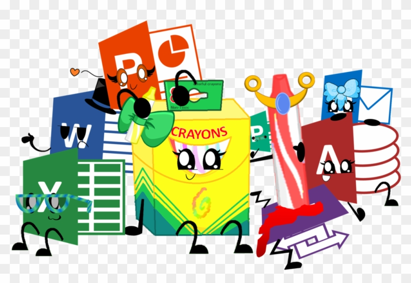 Boc And The Microsoft Siblings By Shysylveon On Clipart - Openclipart #118887