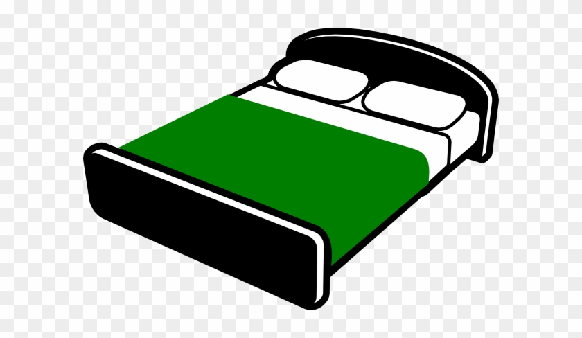 Bed Clip Art At Vector Clip Art Online Royalty Free - Bed Clipart With Transparent Background #119086
