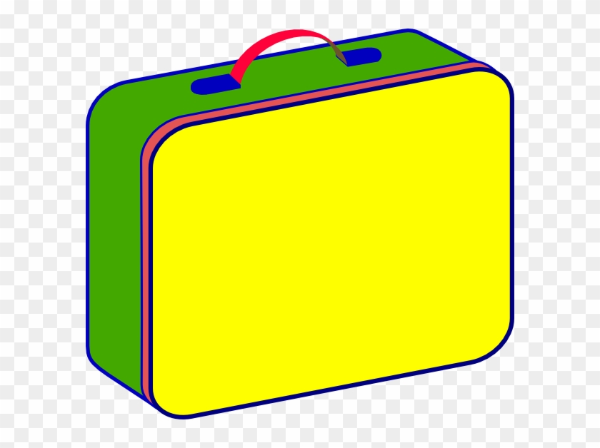 Lunch Box Lunch Clip Art At Vector Clip Art Png - Lunch Box Clipart #119099