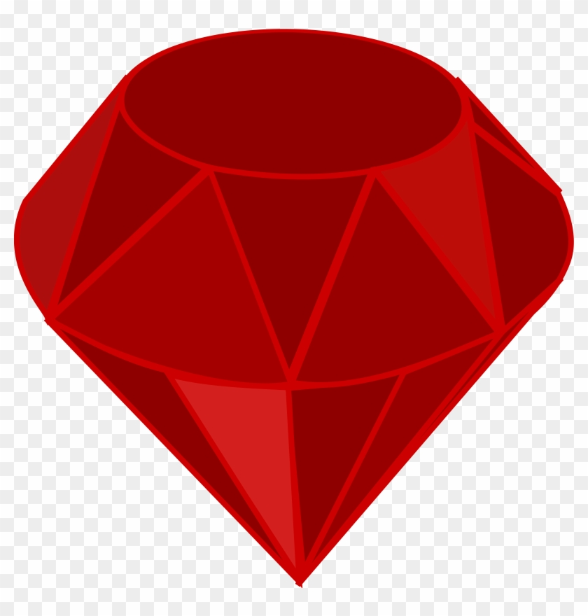 This Free Icons Png Design Of Red Ruby, No Transparency, - Ruby Clip Art #119173