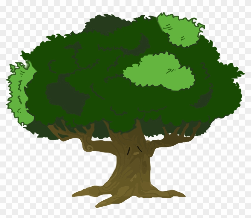 Tree Image Clip Art Online Royalty Free Clipart Png - Cartoon Tree With Branches #119212