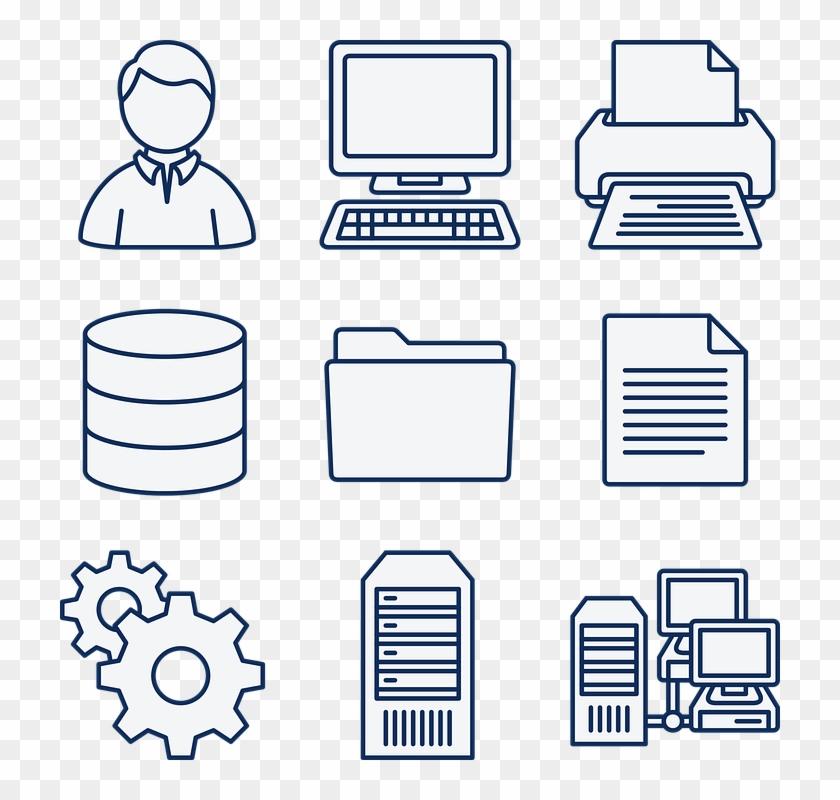 Computer Data Database Diagram Directory Document - Que Es Un Sistema Informatico #119248