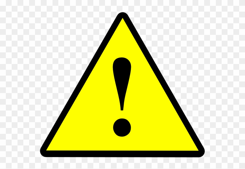 Microsoft Word - Yellow And Black Warning Sign #119281