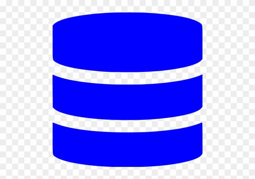 Blue Database Icon - Database Icon Png Blue - Free