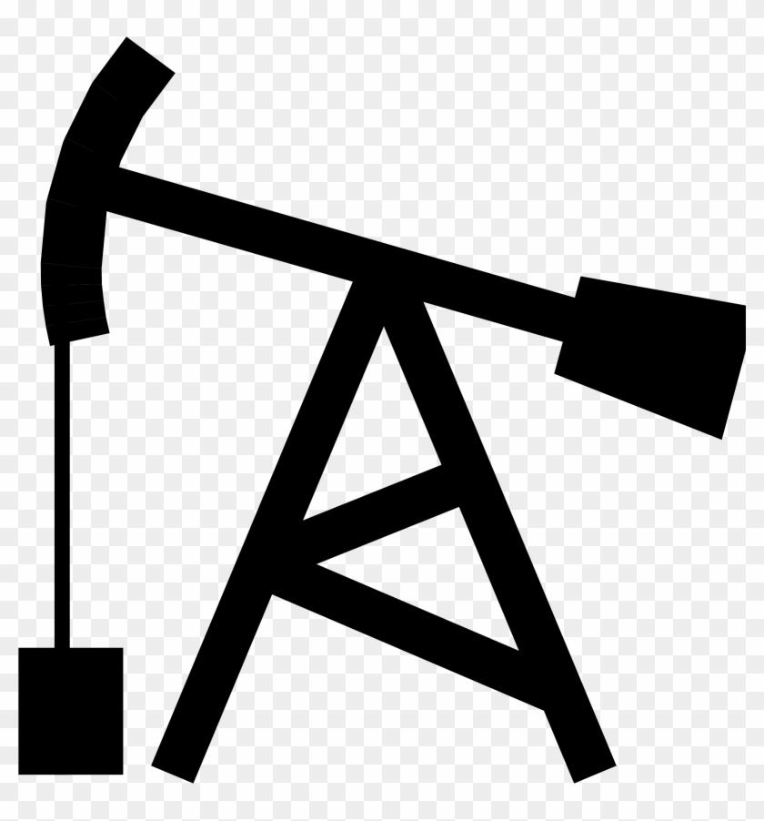 Oil Clip Art - Pump Jack Clip Art #119359
