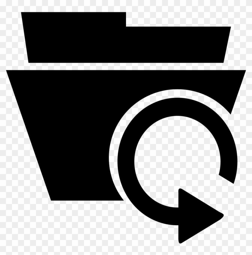 Historical Data Clip Art - Data Recovery Icon Vector #119405