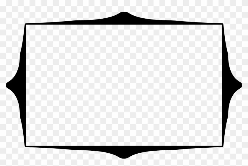 Rectangular Png File - Rectangle Frame Clipart Png #119446