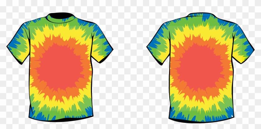 Tie Dye Shirts Tie Dye Art Designs By Courtenay Pollock - Tie Dye Clip Art #119470