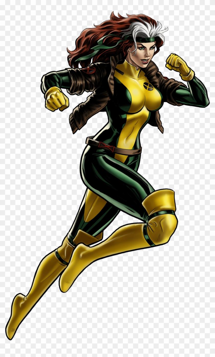 Rogue (earth-12131) - Brunette Superheroes #119544