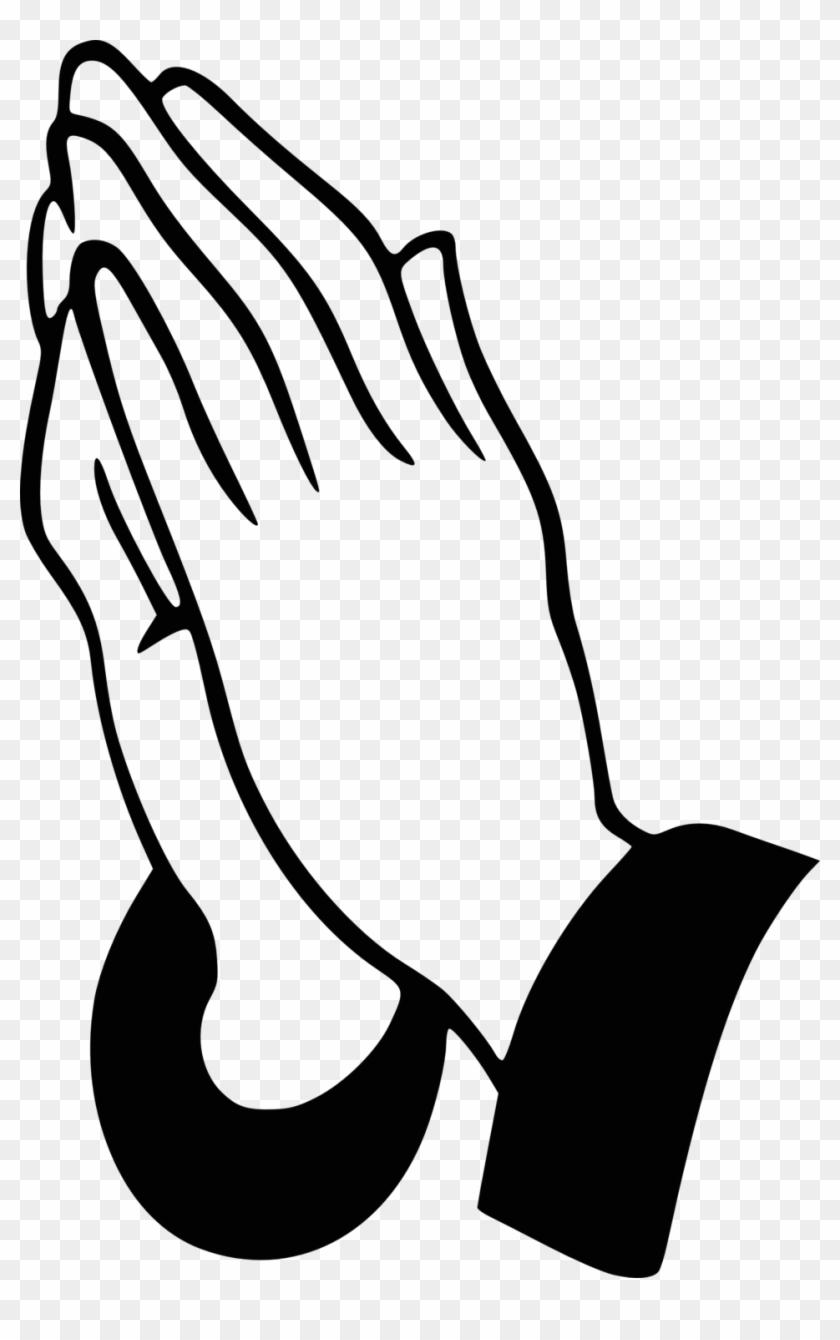 Praying Hands - Praying Hands Clipart #119507