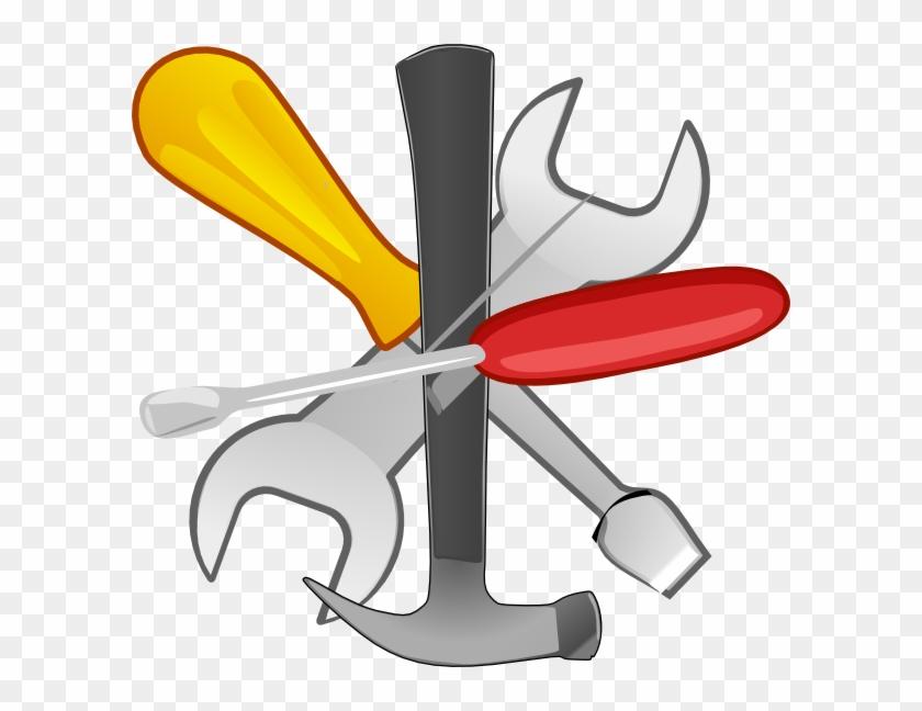 Hand Tools Clipart - Clipart Tools Png #119540