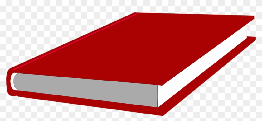 Clipart Of Red Book Books Free Stock Photo Illustration - Red Book Transparent Background #119552