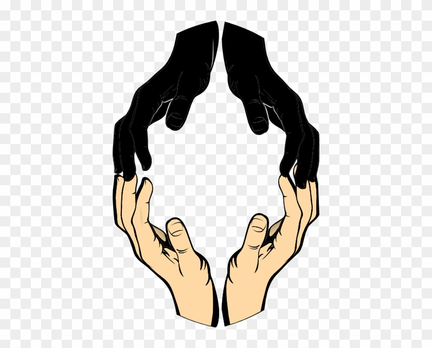 Helping Hand Clip Art - Vector Helping Hands Png #119578