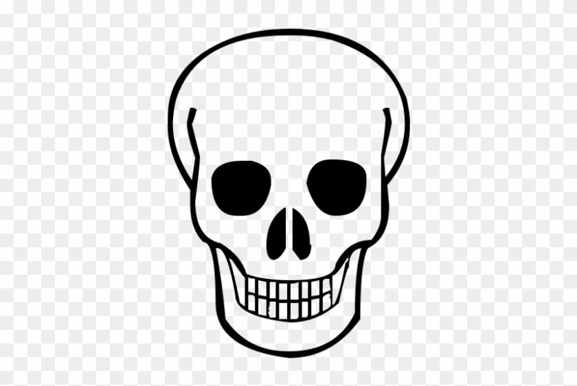 Skull Clipart Seven - Simple Skull #119720