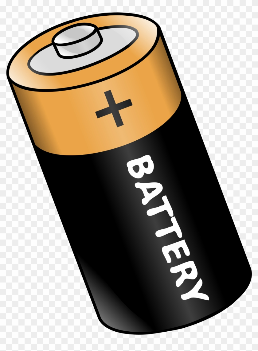 Battery 20clipart - Things That Use Energy #119925
