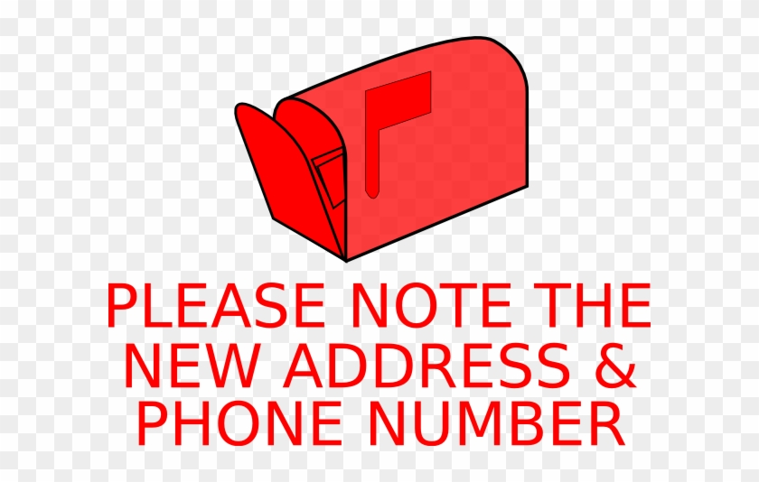 New Address Clipart Address Changed Clip Art At Clker - Don T Care Anymore #119978