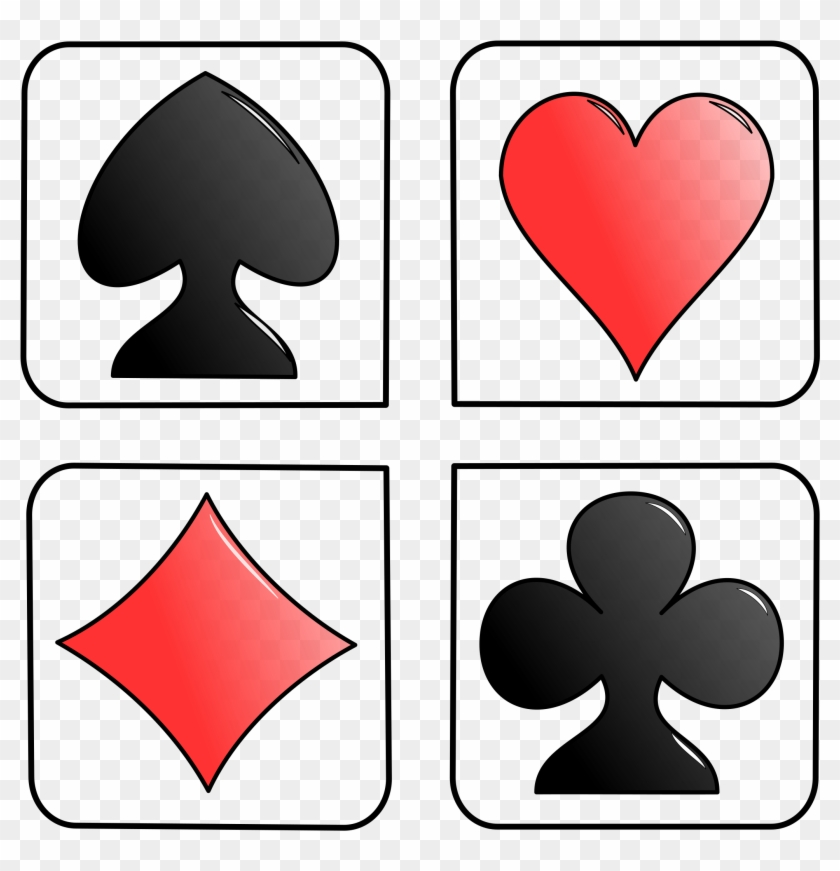 Cards Library Card Clipart Free Images 3 Image - Cards Hearts Diamonds Spades And Clubs #120043