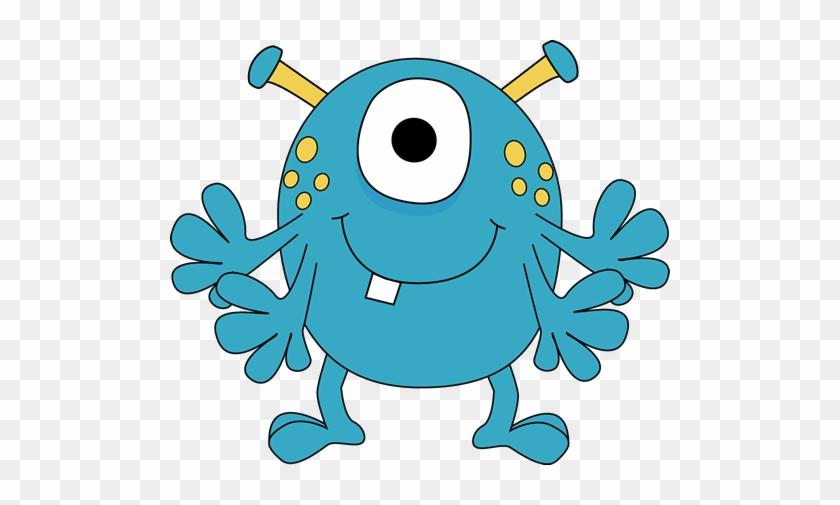 Monster Clipart For Kids Four Arm Monster Clip Art - Monster Clipart #120105