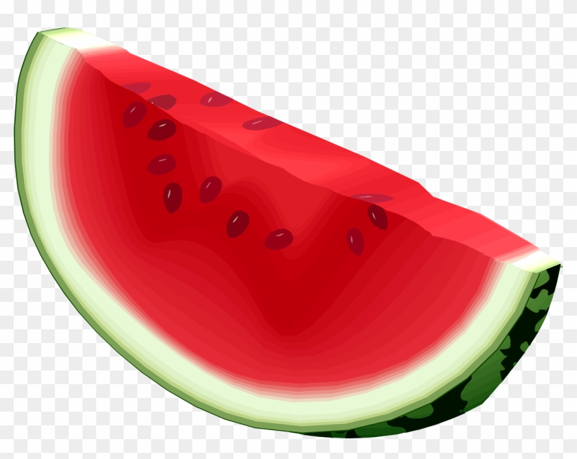 Backgrounds For Watermelon Slice Clip Art No Background - Watermelon With Transparent Background #120124