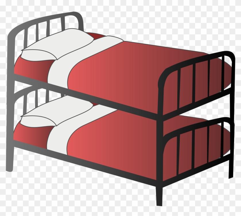 Bedtime Clipart 7 Bed Clip Art 2 Clipartbold - Bunk Beds Clipart #120201