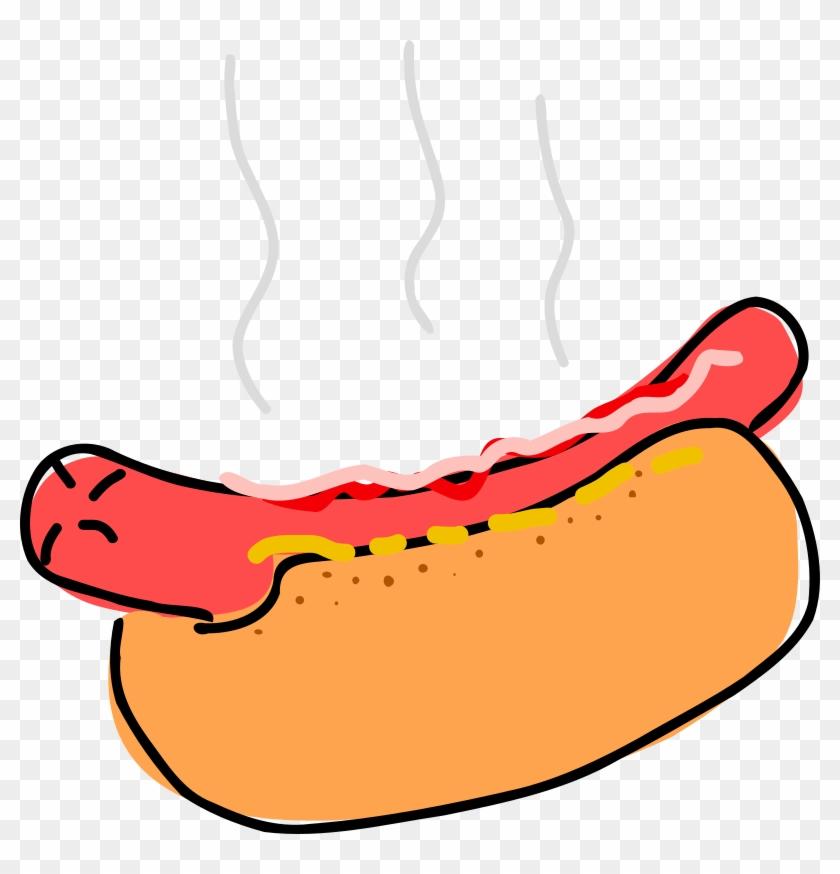 Hot D Microsoft Word Clip Art Download - Hot Dog Clipart #120211