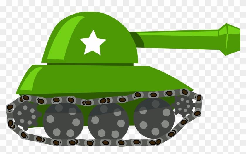 Download Big Image - Cartoon Tank #120362