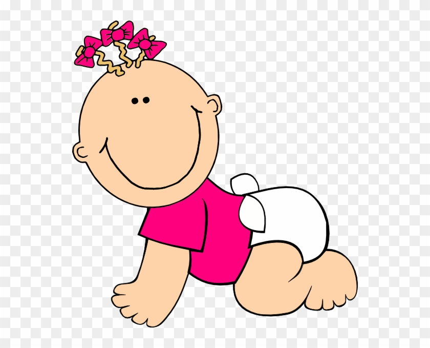 Baby Girl Clipart - Baby Free Clipart #120394