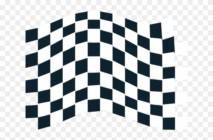 Chequered Flag Icon Clipart - Checkered Flag Logo #120401