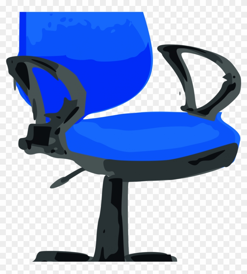 Table Office & Desk Chairs Clip Art - Table Office & Desk Chairs Clip Art #120465