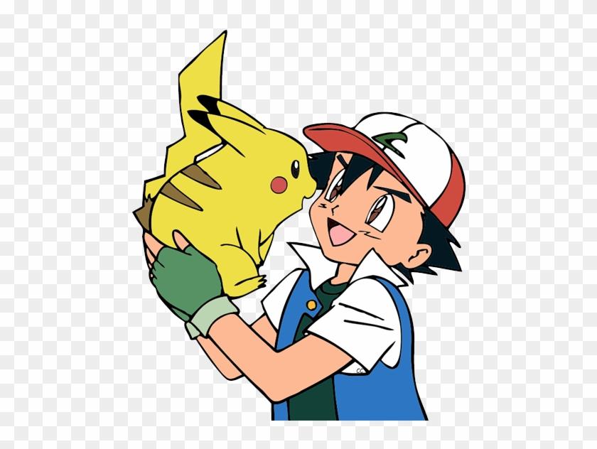 Pikachu And Ash #120434