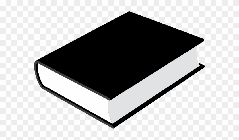 Book Clip Art At Clker Com Vector Online Royalty Free - หนังสือ สี ดำ #120500