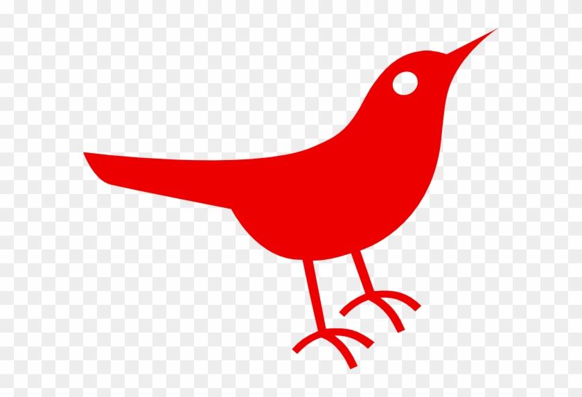 Red Bird Clipart - Red Bird Clipart #120509